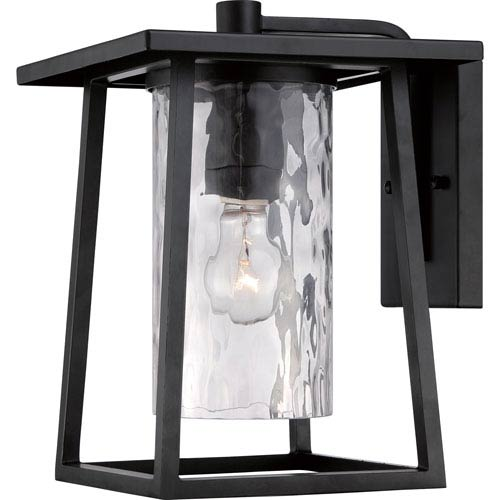 Quoizel Lodge Mystic Black One Light Outdoor Wall Fixture