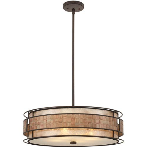 Mica Renaissance Copper Four-Light Pendant