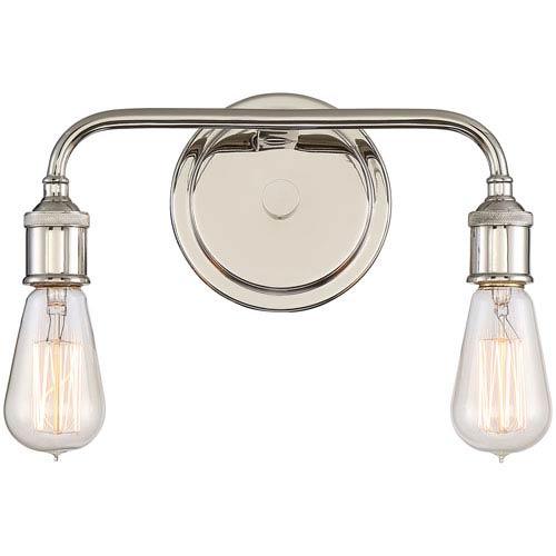 Menlo Imperial Silver Two-Light Vanity