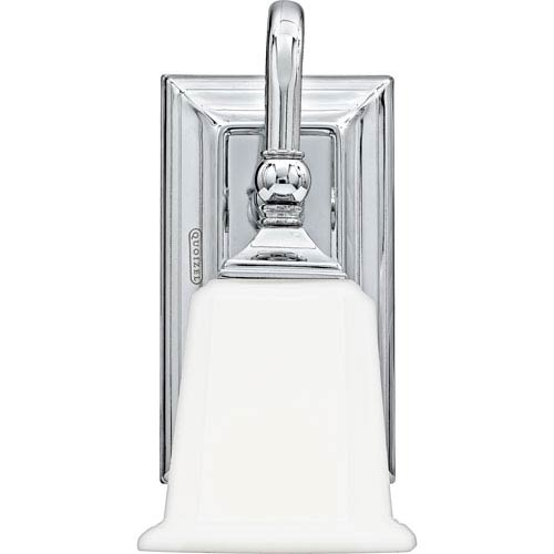 Quoizel Nicholas Polished Chrome One-Light Bath Light