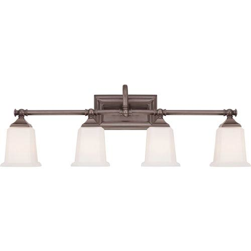 Quoizel Nicholas Harbor Bronze Four-Light Bath Fixture