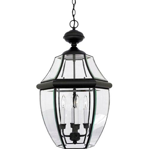 Outdoor hanging lights lanterns bellacor newbury large mystic black outdoor pendant aloadofball Images