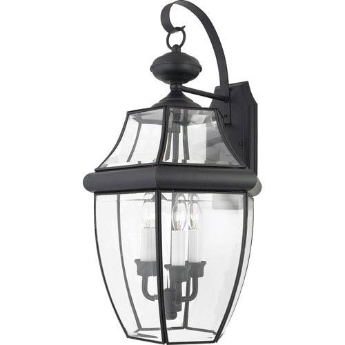 Quoizel Newbury Mystic Black Wall Lantern