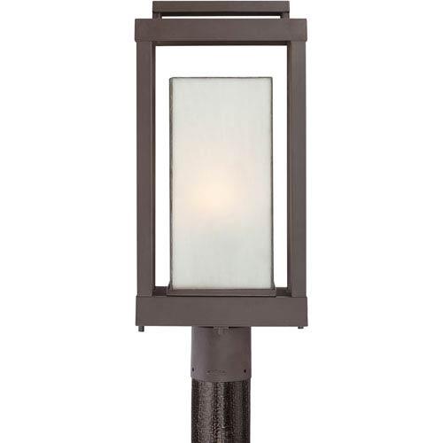 Powell Western Bronze One-Light Outdoor Post Light