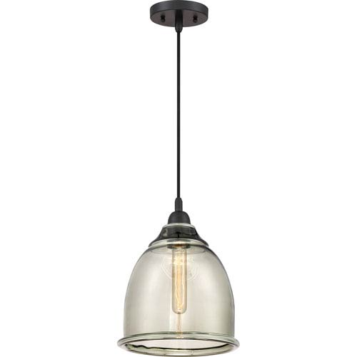 Profile Mystic Black 10-Inch One-Light Mini Pendant