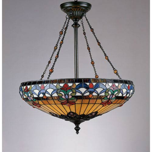 Tiffany pendant lighting tiffany style pendant lights bellacor tiffany pendant light aloadofball Images