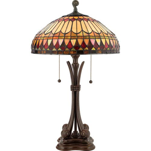 Quoizel West End Tiffany Table Lamp
