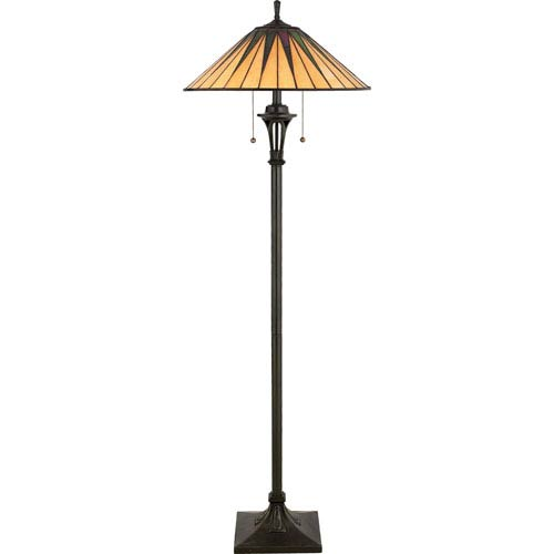 Tiffany floor lamps discounted tiffany style lighting on sale at gotham floor lamp aloadofball Images
