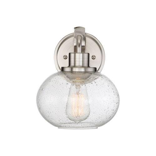 Quoizel Trilogy Brushed Nickel One-Light Bath Light