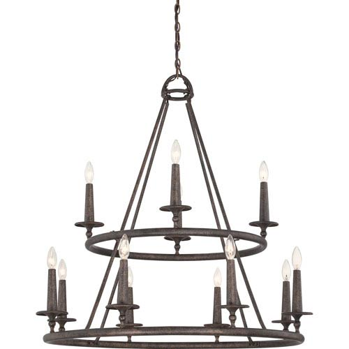 Voyager Malaga Twelve-Light Chandelier
