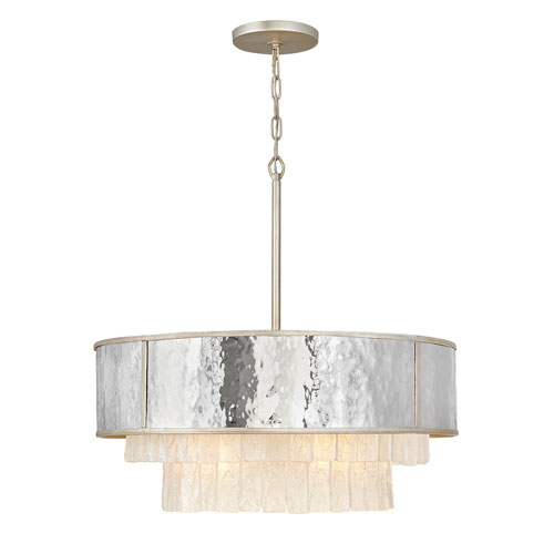 Reverie Champagne Gold 26-Inch Eight-Light Chandelier