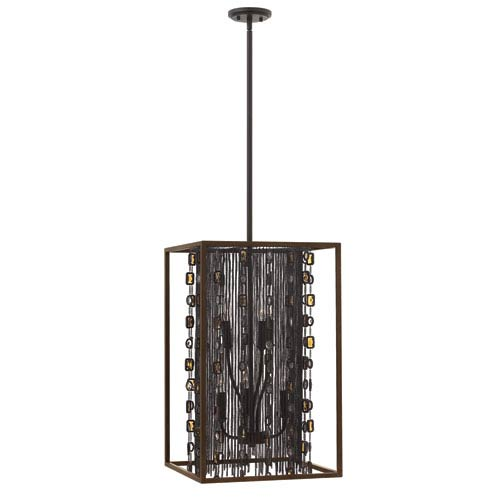 Mercato Anchor Bronze 16-Inch Six-Light Foyer Pendant