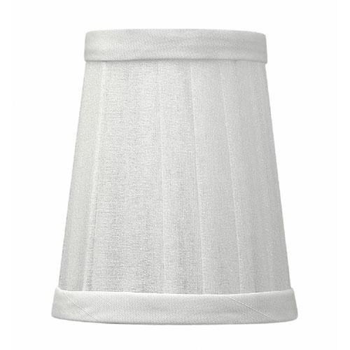 Cortina Silver Chiffon Lamp Shade