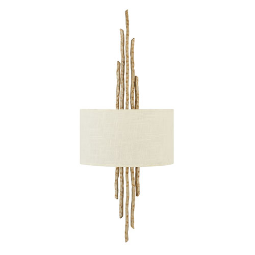 Spyre Champagne Gold Two-Light Wall Sconce