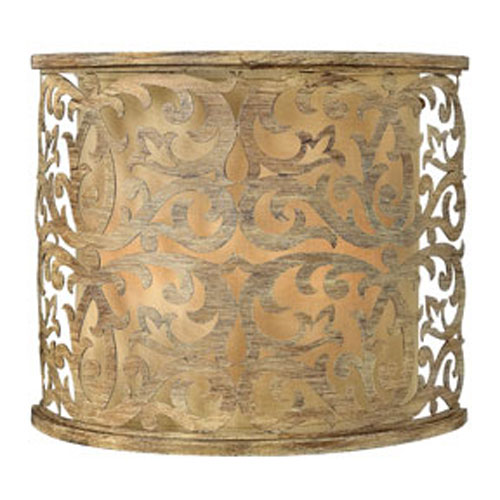 Carabel Brushed Champagne Wall Sconce