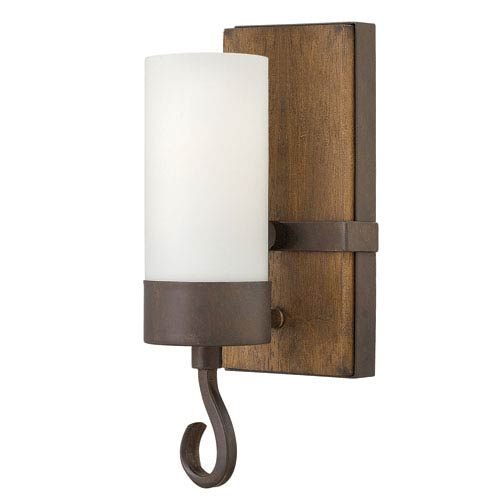 Cabot Rustic Iron 11.5-Inch One-Light Wall Sconce