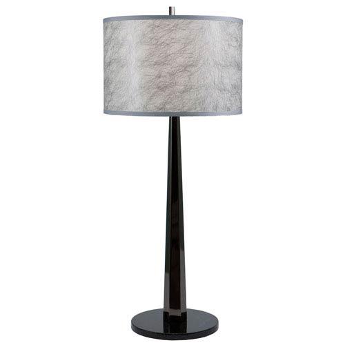 Thumprints Obsidian Table Lamp