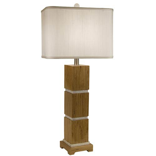 Tahiti Table Lamp with Rectangle Shade