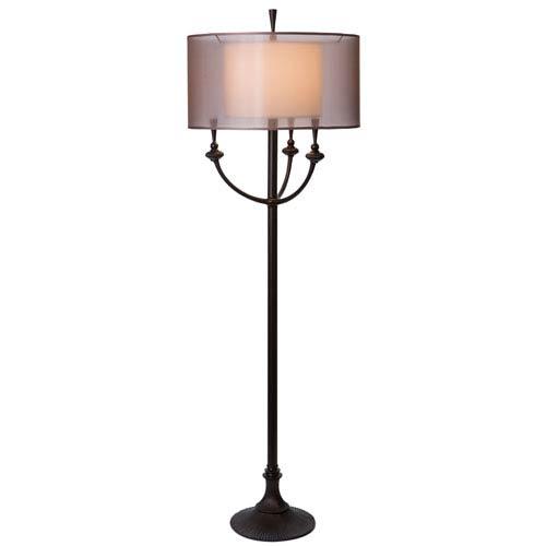Thumprints Ivana Oil Rubbed Bronze Floor Lamp