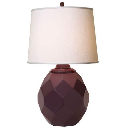 Jewel Eggplant Table Lamp