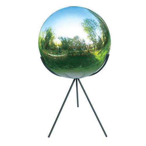 Tri-Pod Globe Pedestal for Romes 10 Inch Globe Black Powdercoat - Pedestal Only