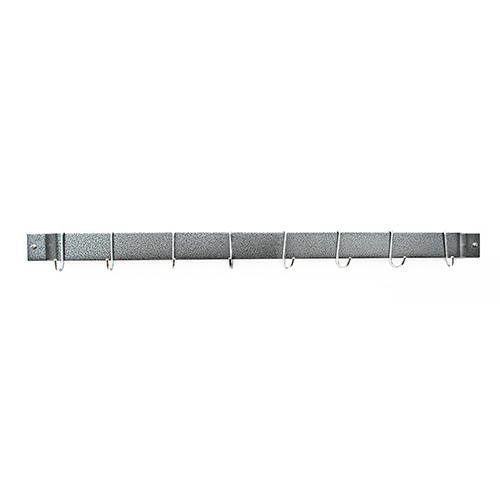 Hammered Steel 30-Inch Bar Rack