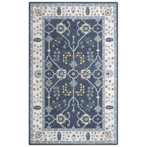 Conley Blue 5 Ft. x 7 Ft. 6 In. Tufted Rug