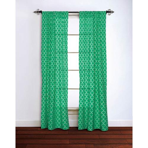 Moroccan Emerald 84 x 42-Inch Curtain Single Panel