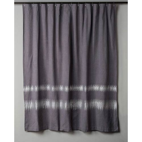 Charcoal Shower Curtain