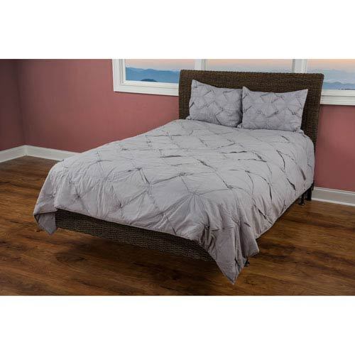 Carrington Silver Twin Quilt