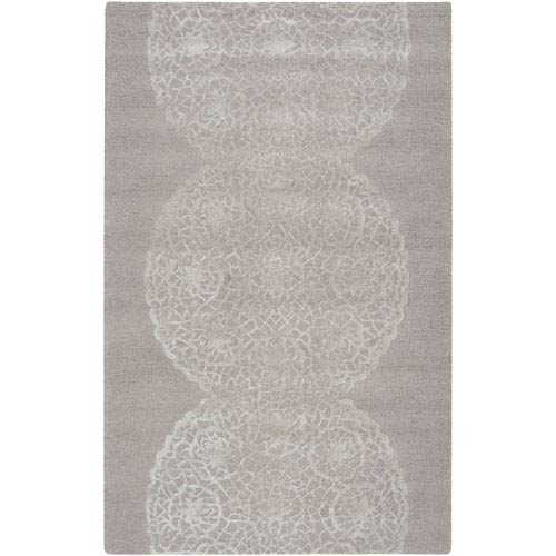 Rizzy Rugs Dimensions Light Brown and Ivory Rectangular: 5 Ft. x 8 Ft. Rug