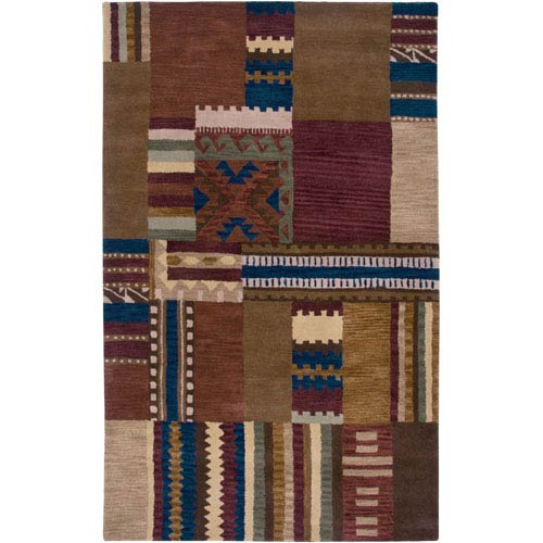 Rizzy Rugs Southwest Red Rectangular: 5 Ft. x 8 Ft. Rug