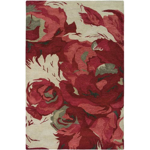 Rizzy Rugs Highland Beige Rectangular: 5 Ft. x 8 Ft. Rug