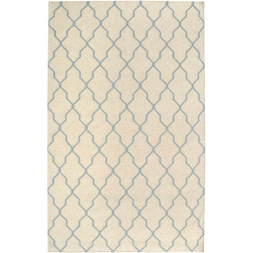 Rizzy Rugs Swing Beige and Light Gray Rectangular: 5 Ft. x 8 Ft. Rug