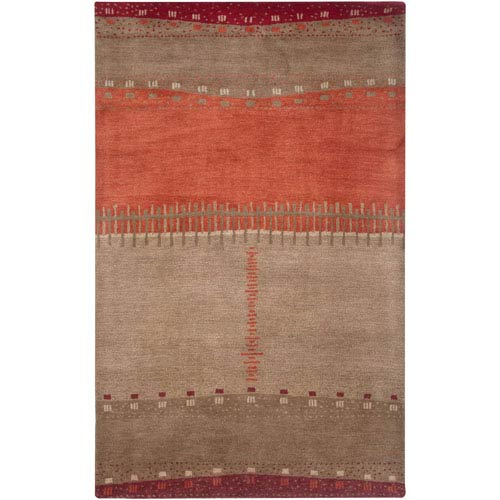 Mojave Beige Rectangular: 5 Ft. x 8 Ft. Rug