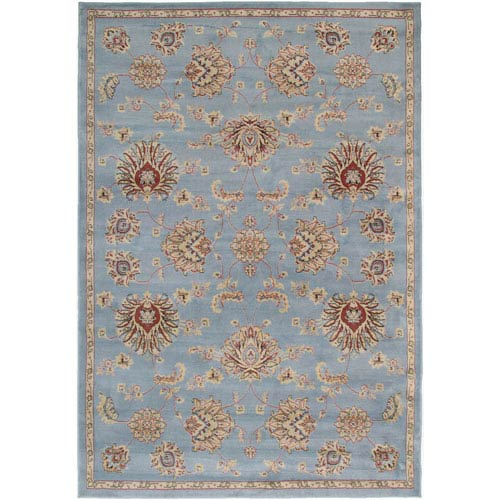 Rizzy Rugs Bayside Gray Rectangular: 5 Ft. 3 In. x 7 Ft. 7 In. Rug