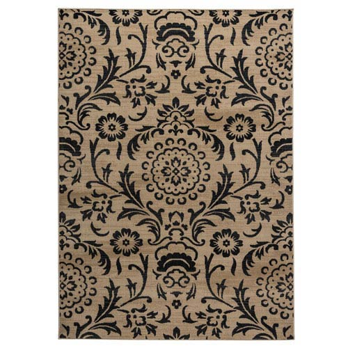Carrington Ivory Rectangular: 5 Ft 3 In x 7 Ft 7 In Rug