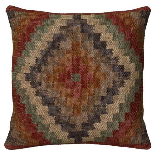 Southwest Rust 18-Inch Throw Pillow