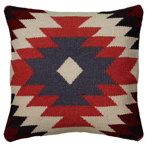 Southwest Orange 18-Inch Throw Pillow