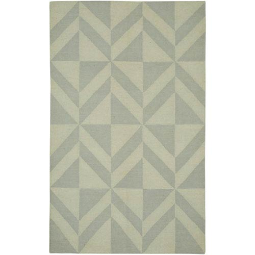Rizzy Rugs Swing Light Gray Rectangular: 5 Ft. x 8 Ft. Rug