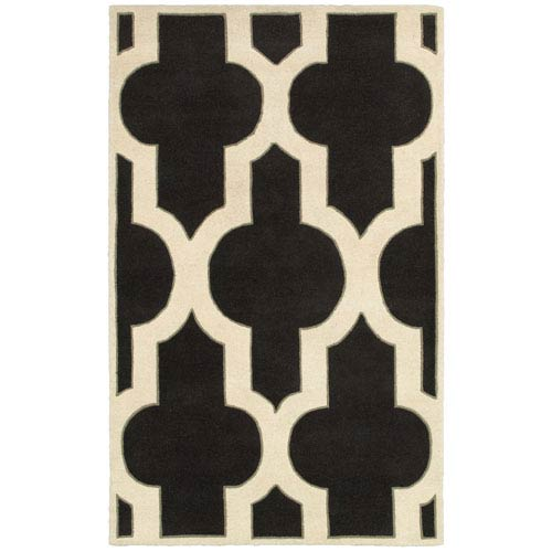 Rizzy Rugs Volare Charcoal Rectangular: 5 Ft. x 8 Ft. Rug