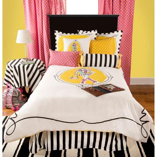 Rachel Kate Cassidy Yellow Three-Piece Full/Queen Comforter Set