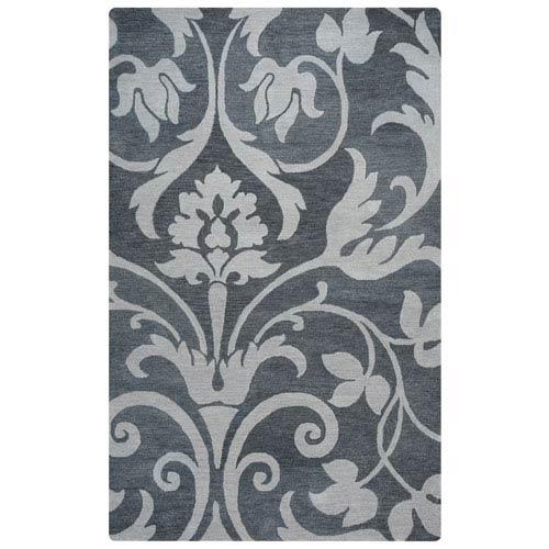 Marianna Fields Grey Rectangular: 5 Ft x 8 Ft Rug