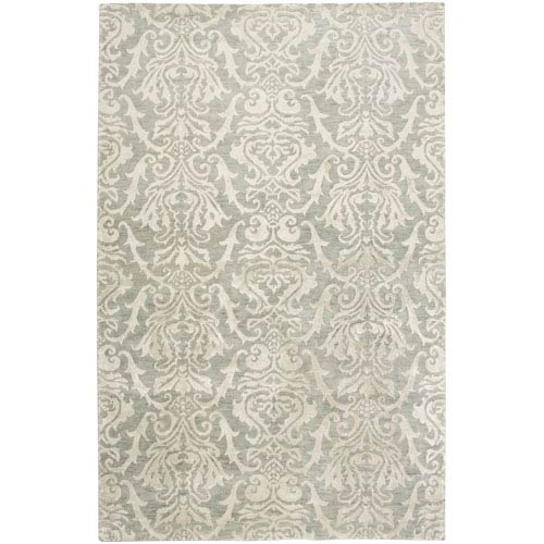 Rizzy Rugs Avant-Garde Rectangle: 5 Ft. 6 In. x 8 Ft. 6 In. Gray Rug