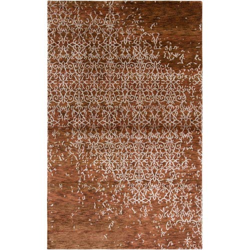 Rizzy Rugs Avant-Garde Rectangle: 5 Ft. 6 In. x 8 Ft. 6 In. Rust Rug