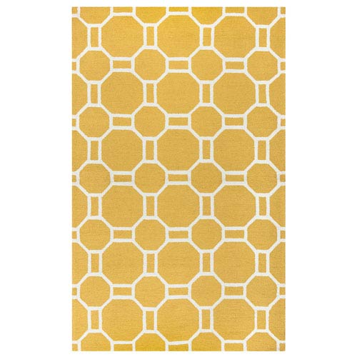 Azzura Hill Gold Rectangular: 2 Ft. x 3 Ft.  Rug