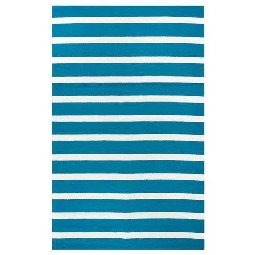 Rizzy Rugs Azzura Hill Blue Rectangular: 2 Ft. x 3 Ft.  Rug
