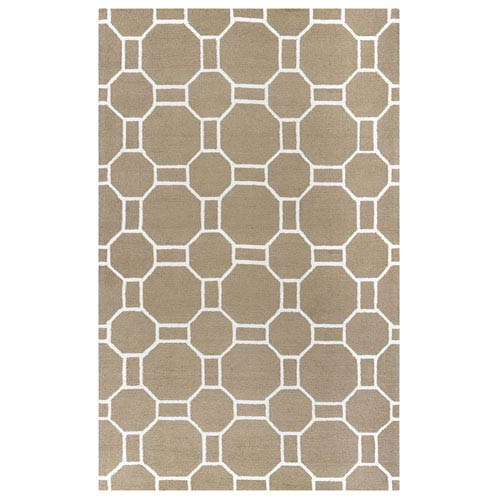 Rizzy Rugs Azzura Hill Beige Rectangular: 2 Ft. x 3 Ft.  Rug
