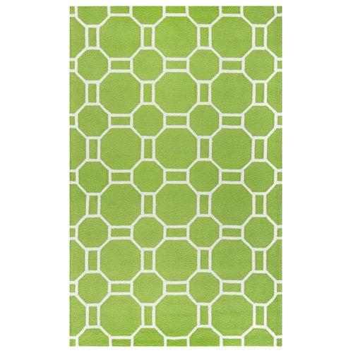 Azzura Hill Lime Rectangular: 2 Ft. x 3 Ft.  Rug