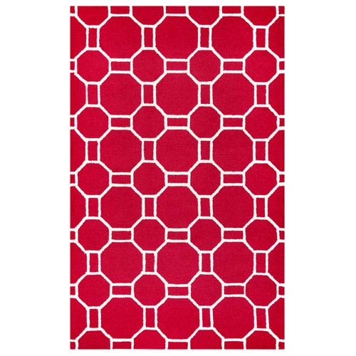 Azzura Hill Red Rectangular: 2 Ft. x 3 Ft.  Rug